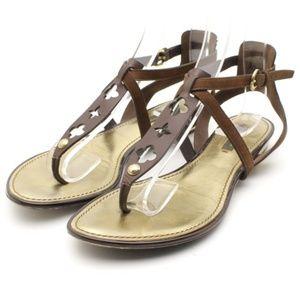 Louis Vuitton Monogram Strappy Sandals